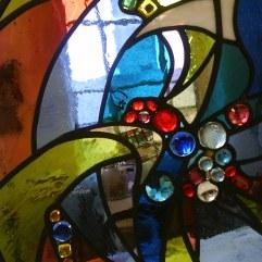 Detail peace window.