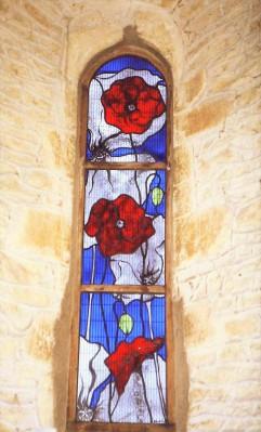Noke Church Window Oxfordshire