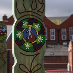 Chapel Street school Commission Totems