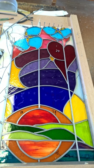 Window in progress