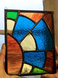 Stained glass weekend workshop