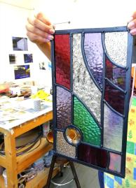 Stained glass beginners Weekend workshop