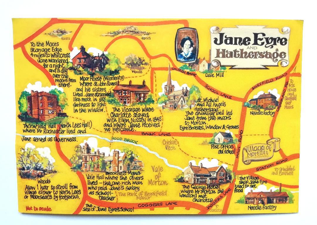 Postcard Jane Eyre